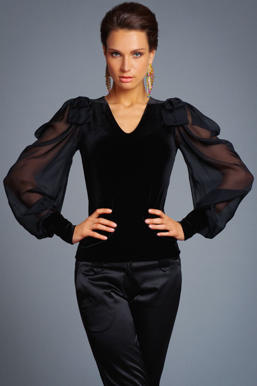 Блузки женские нарядные с доставкой