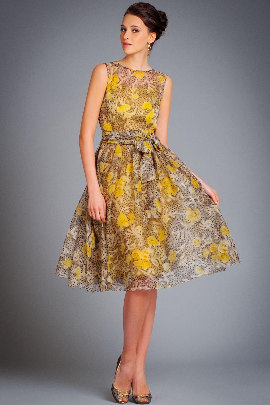 Платья летние платья из шелка