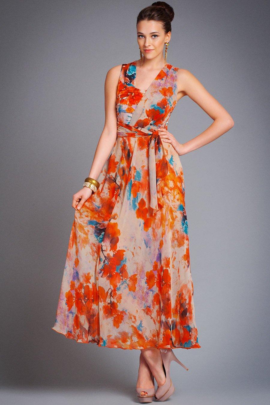 Платья летние из легкой ткани