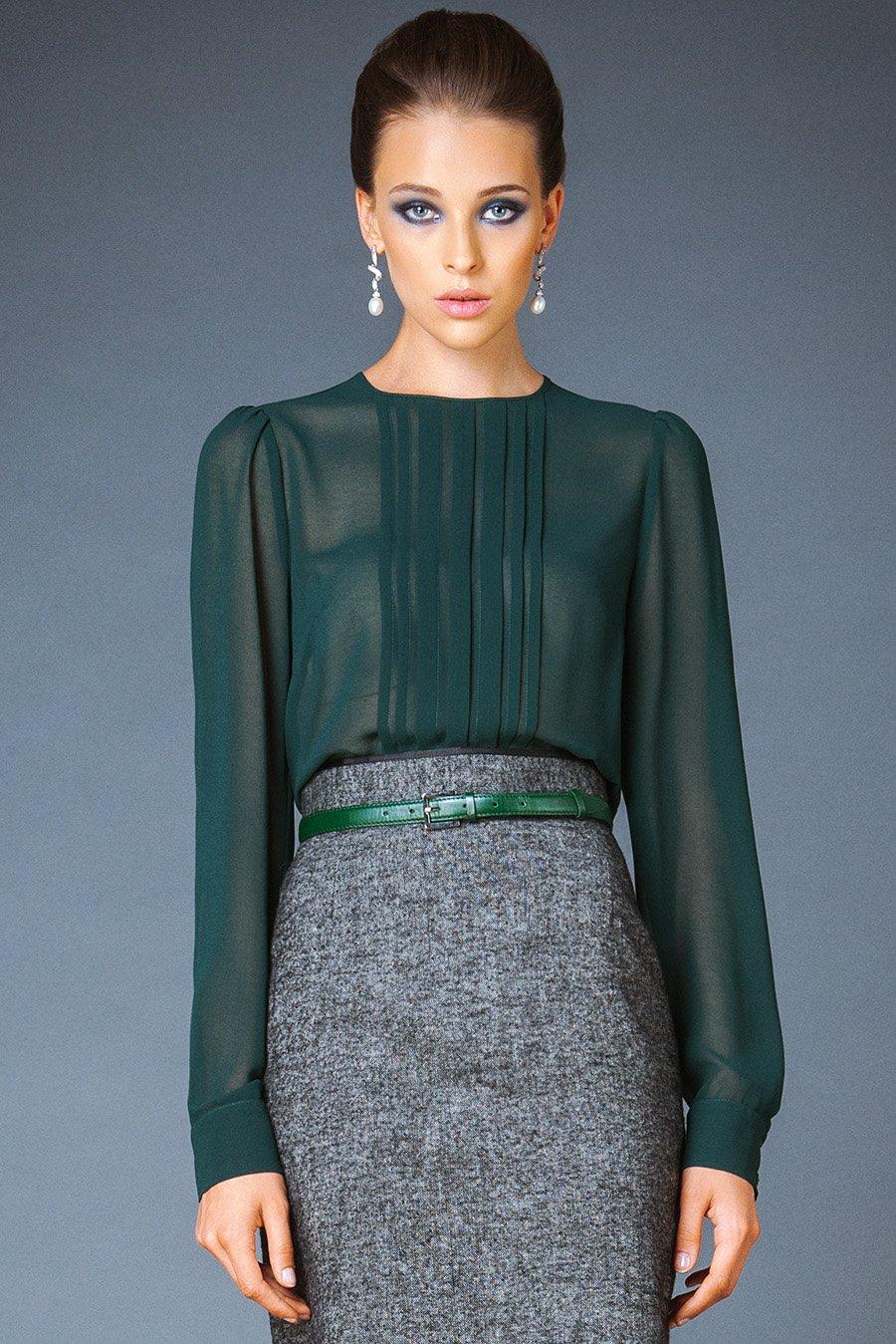 Модные классические блузки