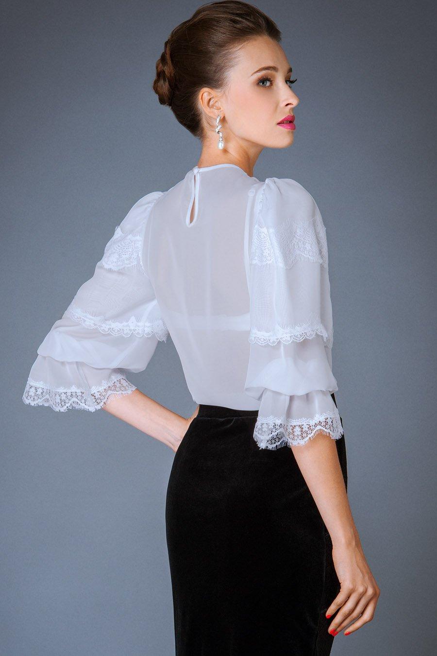 Блузки просвечивающие