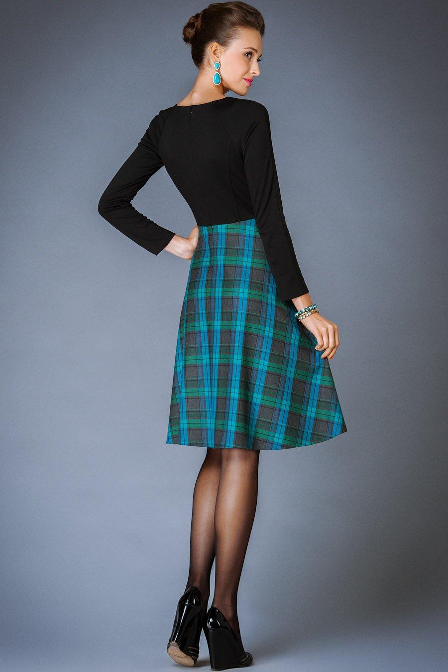 Платья Из Шотландки Купить