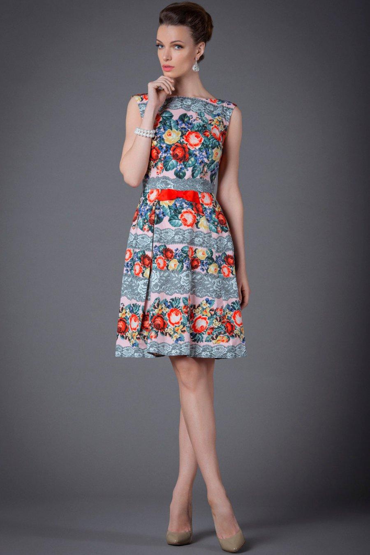 95267274951 Платье Розарий
